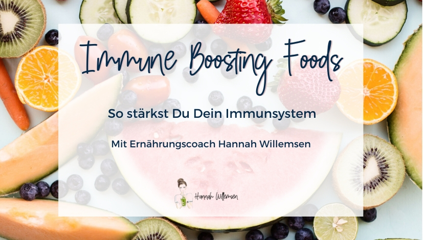 Immune Boosting Foods Online Workshop