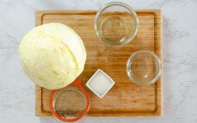 Sauerkraut ganz einfach selber machen