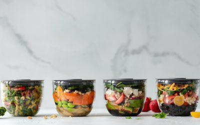 Gesundes Salat Dressing in nur 2 Minuten