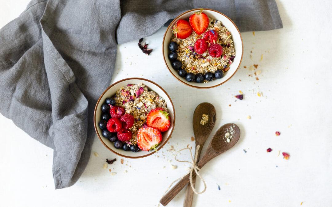 Frühstücks Power Bowl – Das gesunde Frühstück für Deinen Darm